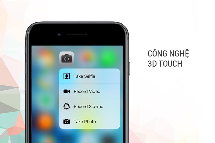 Công nghệ 3D Touch