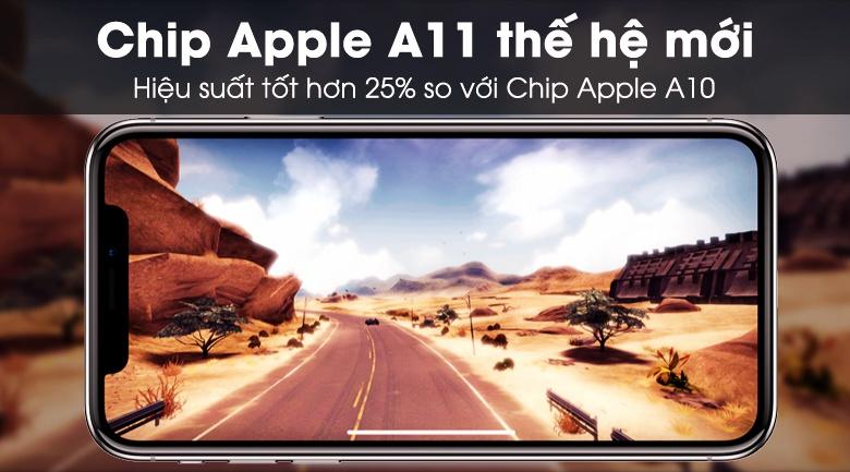 Apple iPhone X sở hữu hiệu năng mạnh mẽ, mượt mà với Apple A11